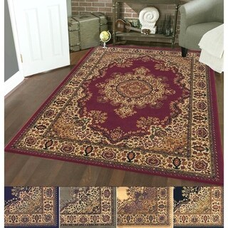 Admire Home Living Caroline Medale Multi Classic Oriental Area Rug (5'5 x 7'7) (5 options available)