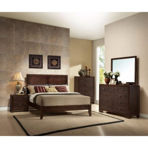 Madison Queen Bed, Espresso