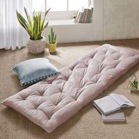 Intelligent Designs Arwen Poly Chenille Lounge Floor Pillow Cushion 2 Color Options