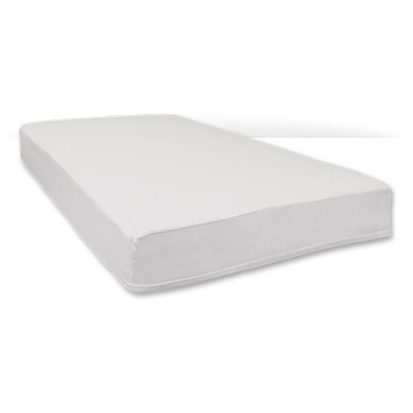 """Foundations SafeFit Portable and Compact Size Zippered Full Enclosure Safety Sheets for 3""""-4"""" Mattress - 6 Pack - White"""