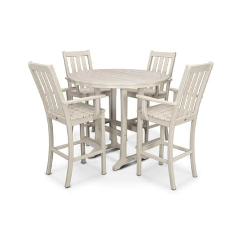 POLYWOOD® Vineyard 5-Piece Bar Set