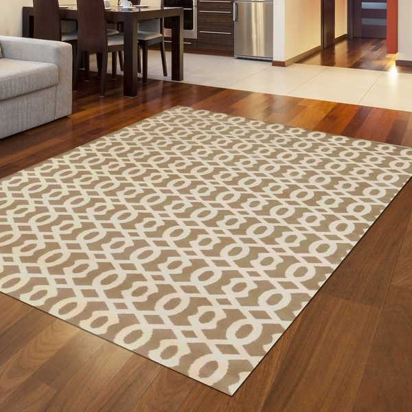 "Bronte Disc Area Rug - 7'10"" x 10'6"""