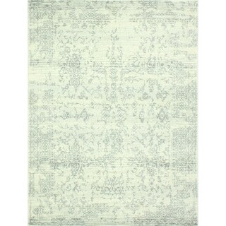 """Aurora Ivory/Silver Transitional Area Rug - 3'6"""" x 5'6"""""""