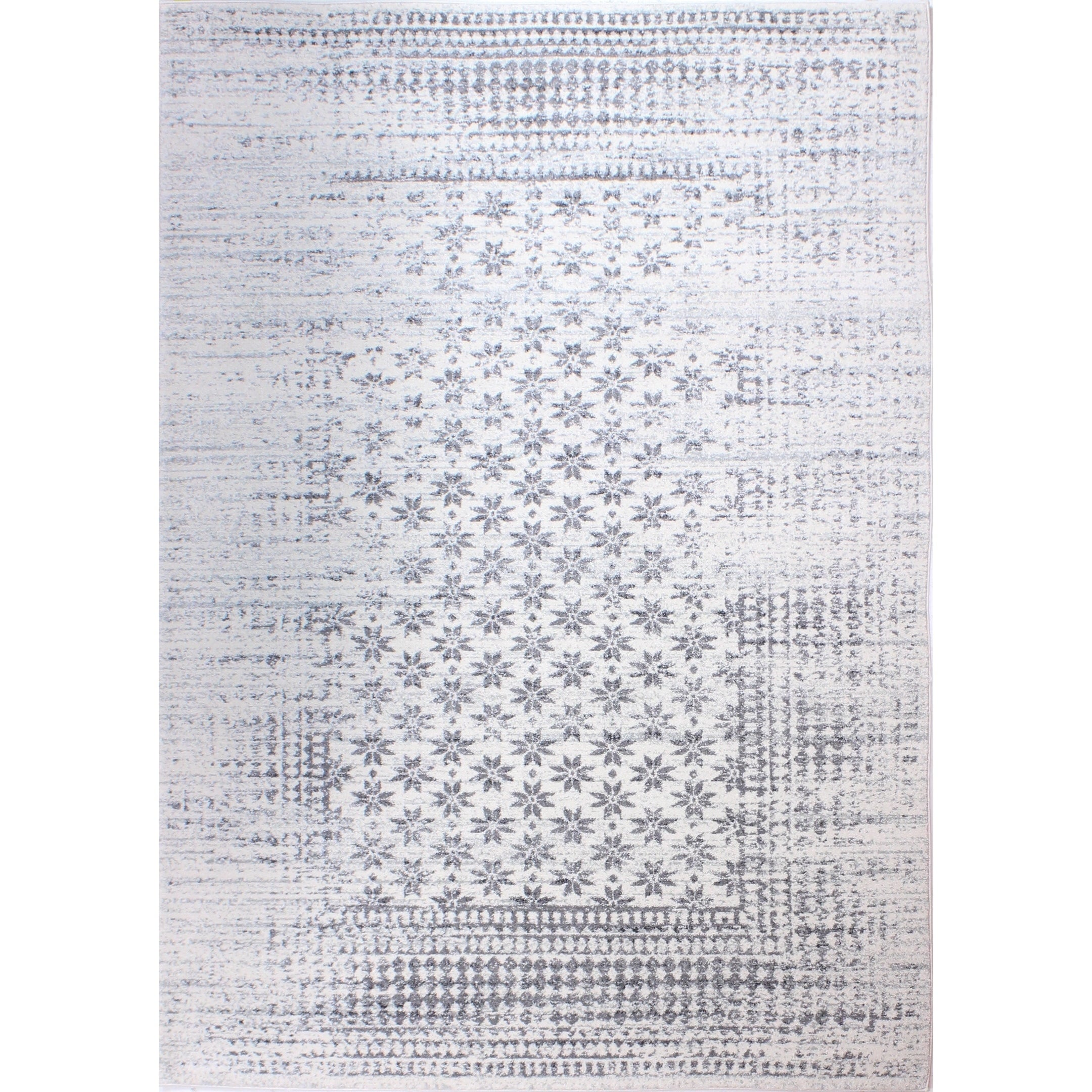 Audrey Ivory Transitional  Area Rug - 5 x 76 (Ivory - 5 x 76)