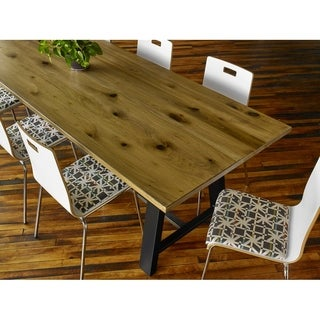 Midtown 36in H Conference Table with 42in D Solid Wood Top