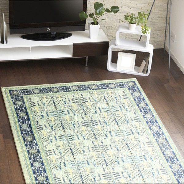 """Agnes Silver Transitional Area Rug - 3'6"""" x 5'6"""""""