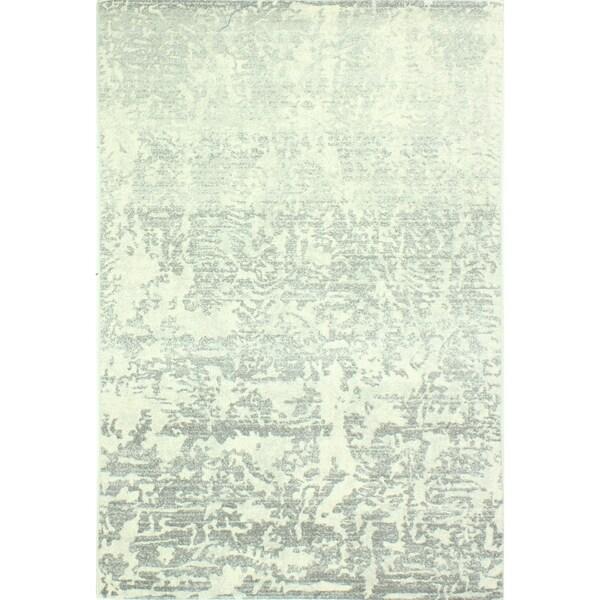 """Aveline Ivory/Grey Transitional Area Rug - 3'6"""" x 5'6"""""""
