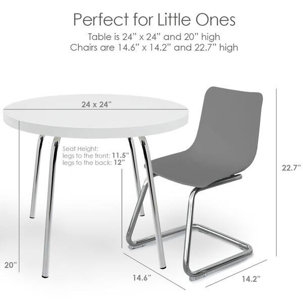 Incredible Shop Pkolino Round Table And Chairs For Kids Free Creativecarmelina Interior Chair Design Creativecarmelinacom