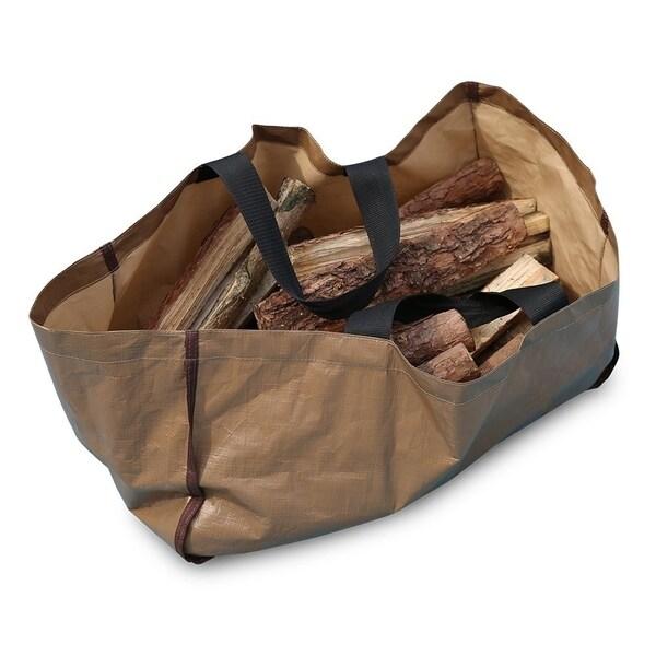 "Abba Patio Log Tote Bag, 25""L x 12""W x 12""H 35854315"