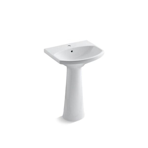 Cimarron Single Hole Faucet Drilling Pedestal Bathroom Sink Free