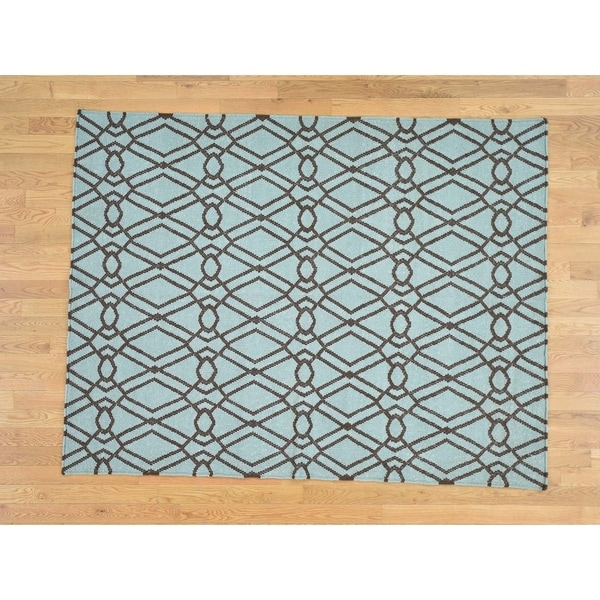 Shop Hand Knotted Brown Clearance With Wool Oriental Rug 5 5 X 7 2