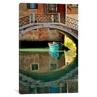"iCanvas ""Casanova's Escape, Venice, Italy"" by Jim Nilsen Canvas Print"