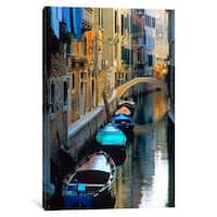 "iCanvas ""Lazy Afternoon, Venice, Italy"" by Jim Nilsen Canvas Print"