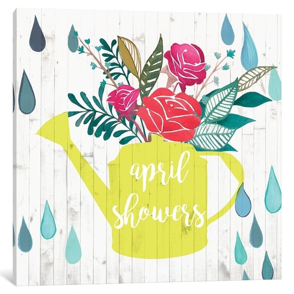 """Shop iCanvas """"April Showers & May Flowers I"""" by Studio W"""