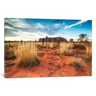 "iCanvas ""Uluru At Sunset, Australia"" by Matteo Colombo Canvas Print"