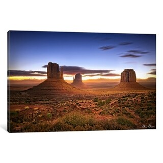 """iCanvas """"Pink Morning Glory II"""" by David Drost Canvas Print"""