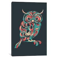 "iCanvas ""Night Owl"" by Jay Fleck Canvas Print"