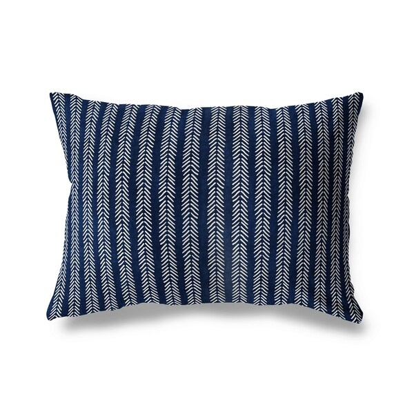 Mud Cloth Lumbar Pillow By Becky Bailey