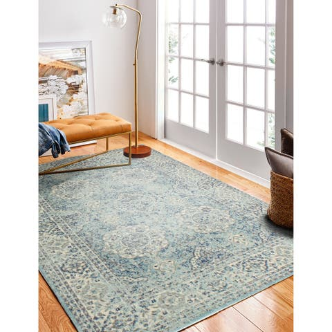 Alberta Transitional Machine Made Area Rug