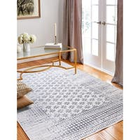 "Audrey Ivory Transitional 8'6"" X 11'6"" Area Rug - 8'6"" x 11'6"""