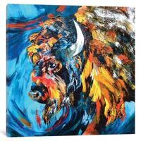 "iCanvas ""Buffalo"" by Lindsey Dahl Canvas Print"
