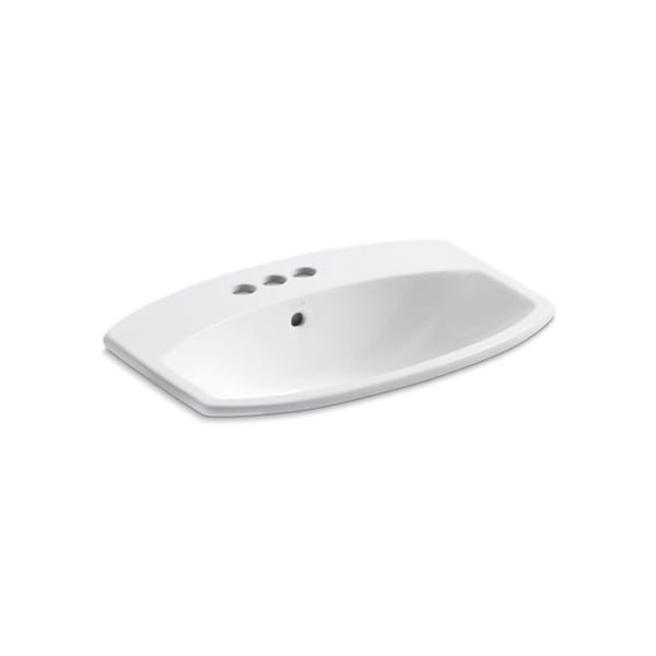 Shop Cimarron 4 Inch Centerset Faucet Holes Drop In Bathroom Sink Free Shipping Today