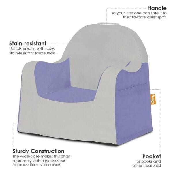 Swell Shop Pkolino Little Reader Grey Slip Cover Chair Free Theyellowbook Wood Chair Design Ideas Theyellowbookinfo