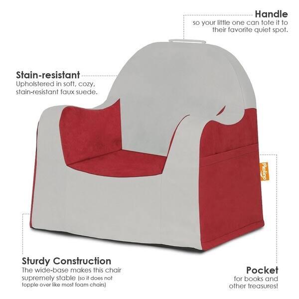 Prime Shop Pkolino Little Reader Grey Slip Cover Chair Free Theyellowbook Wood Chair Design Ideas Theyellowbookinfo