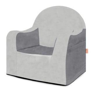 P'kolino Little Reader Grey Slip Cover Chair