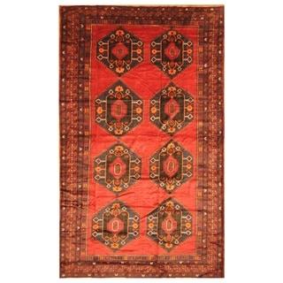 Handmade Balouchi Wool Rug (Afghanistan) - 7'10 x 13'3