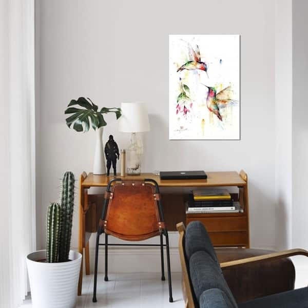 Icanvas Meeting Place By Dean Crouser Canvas Print Overstock 21522986