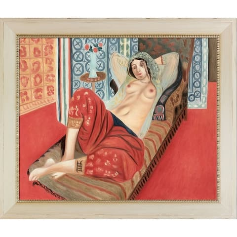 Henri Matisse 'Odalisque with Red Pants' Hand Painted Oil Reproduction