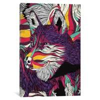 """iCanvas """"Color Husky"""" by Danny Ivan Canvas Print"""