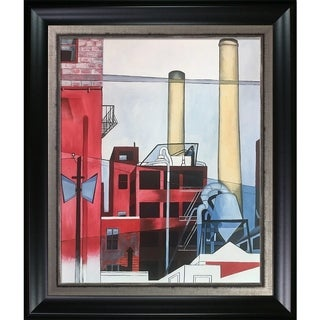 Charles Demuth 'After All, 1933' Hand Painted Oil Reproduction