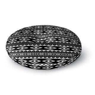 Cherokee Black Floor Pillow