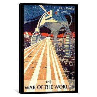 """iCanvas """"H.G. Wells' The War Of The Worlds By Erik Heldfond"""" by Creative Action Network Canvas Print (5 options available)"""