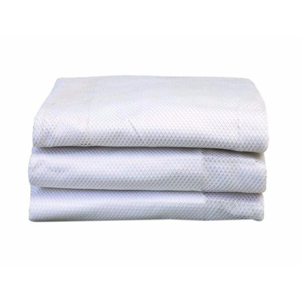 Foundations SleepFresh Microfiber Crib Cover in White - 3 Pack