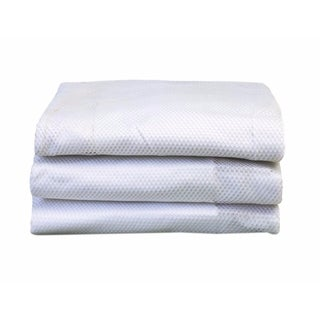 Foundations SleepFresh Microfiber Crib Cover in White - 3 Pack