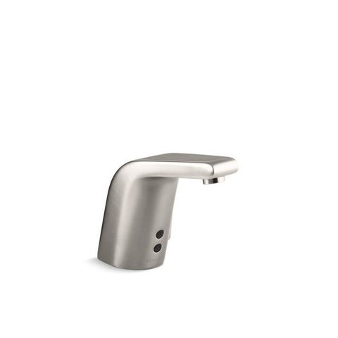 Kohler Sculpted Vibrant Stainless Touchless AC-powered Bathroom Sink Faucet
