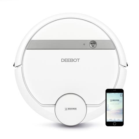 ECOVACS DEEBOT 900 Smart Home Enabled Multi-Surface Robotic Vacuum Cleaner