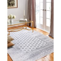 "Audrey Ivory Transitional  Area Rug - 7'6"" x 9'6"""