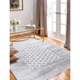 "Audrey Ivory Transitional Area Rug - 3'6"" x 5'6"""