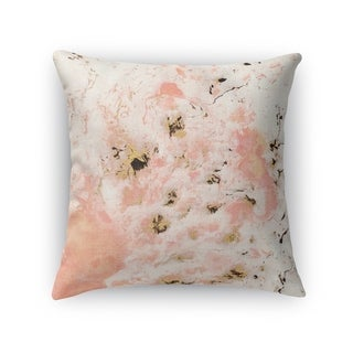 MARBLED PINK Accent Pillow By Kavka Designs