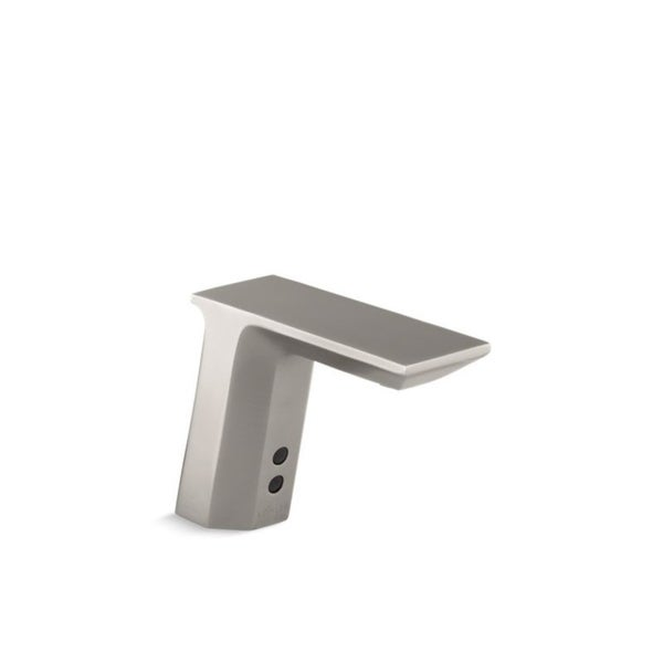 Kohler Geometric Vibrant Stainless Touchless Insight Bathroom Sink Faucet. Opens flyout.