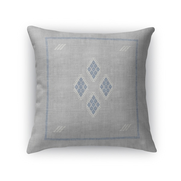 Kilim Grey Accent Pillow By Kavka Designs