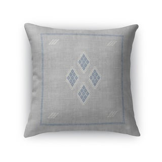 Kilim Grey Accent Pillow By Becky Bailey