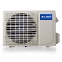 MRCOOL Olympus 36,000 BTU Ductless Heat Pump Split System 2 Zone Wall Mounted 18,000+18,000 with 25 ft. Install Kit - White