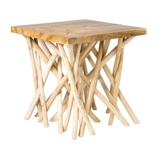 East At Main's Miko Teak End Table