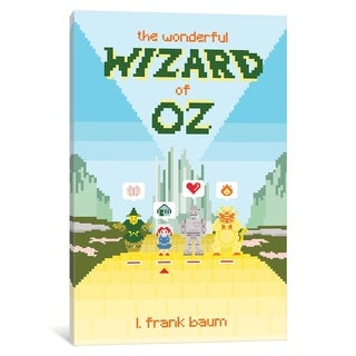 """iCanvas """"The Wonderful Wizard Of Oz By Karl Orozco"""" by Creative Action Network Canvas Print"""