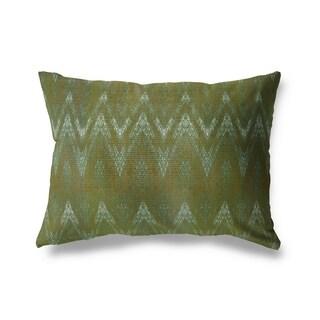 Chevron Lumbar Pillow By Michelle Parascandolo